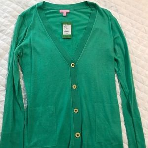 NWT green Lilly Pulitzer sweater